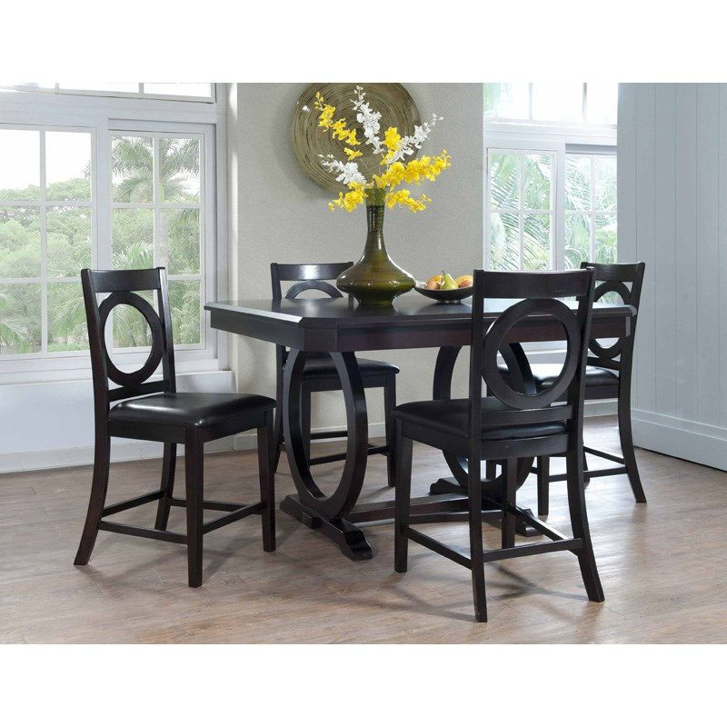 Powell Furniture 180 441M1 Brigham 5 Piece Counter Height Dining
