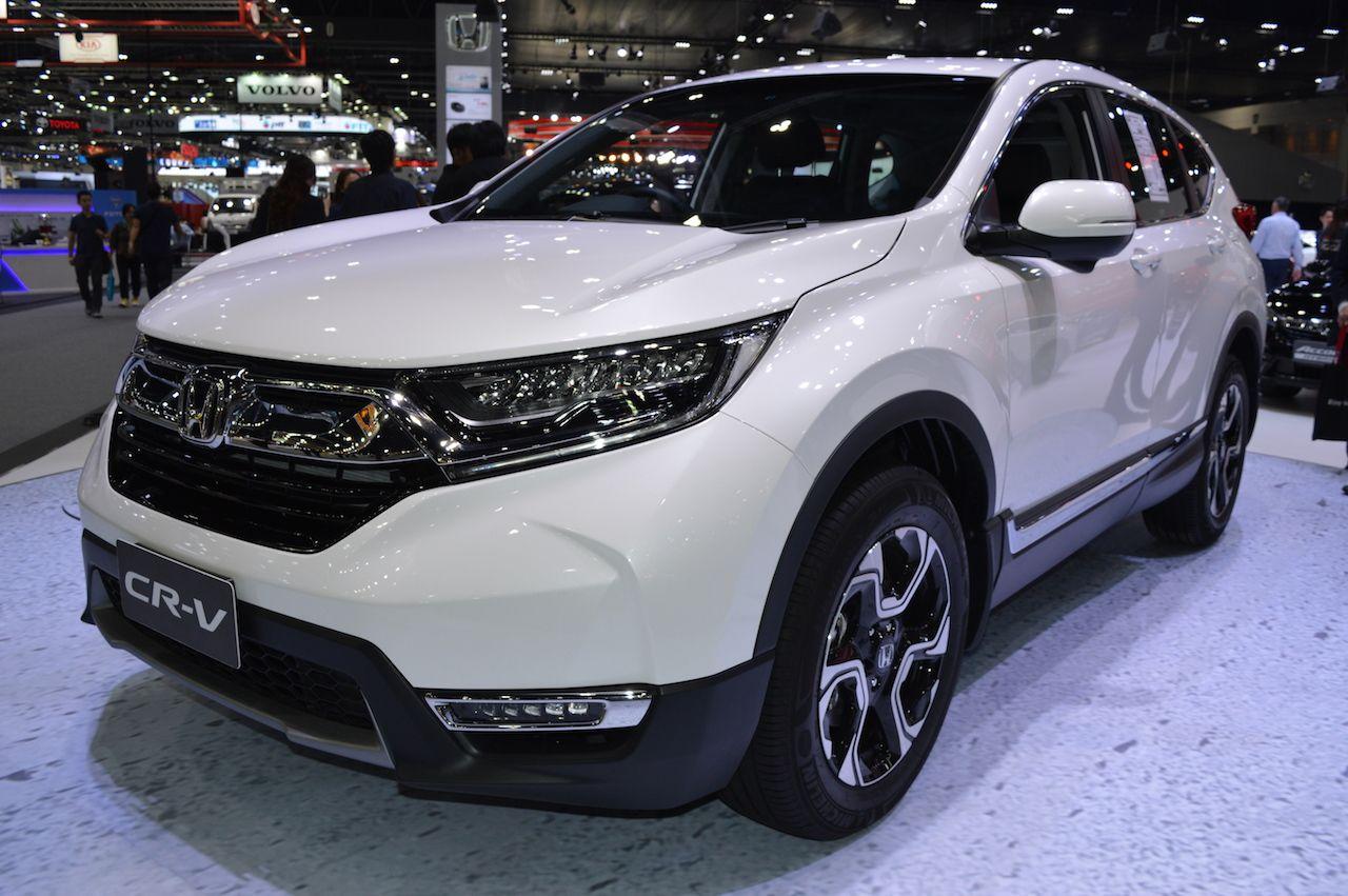 Fifthgen 2017 Honda CRV diesel 2017 Thai Motor Expo
