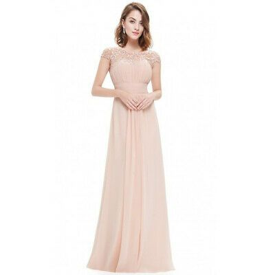 Photo of Long Chiffon Formal Women Lace Dress Prom Evening Party Cock…