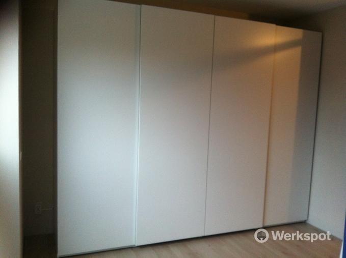 Project Ikea Hasvik Schuifdeurkast 300x236 Cm Werkspot