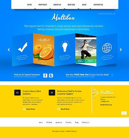 Multibox Design Joomla Templates by Delta   Design Studio Joomla ...