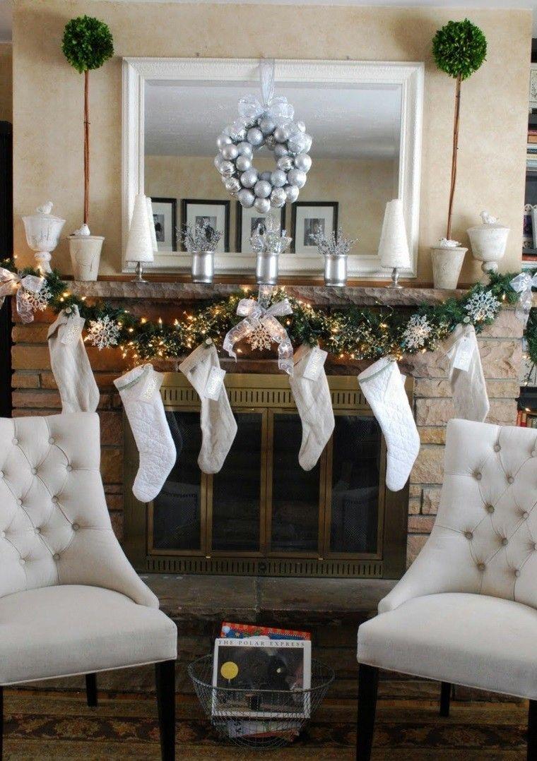 Decoracion de navidad ideas para decorar casas pequeñas | Mantel ...