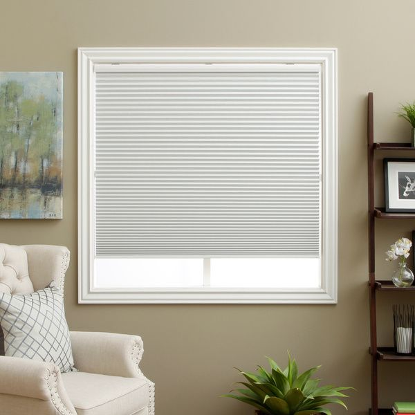 Blackout Bedroom Blinds Mesmerizing Honeycomb Cell Blackout White Cordless Cellular Shades  Overstock Decorating Design