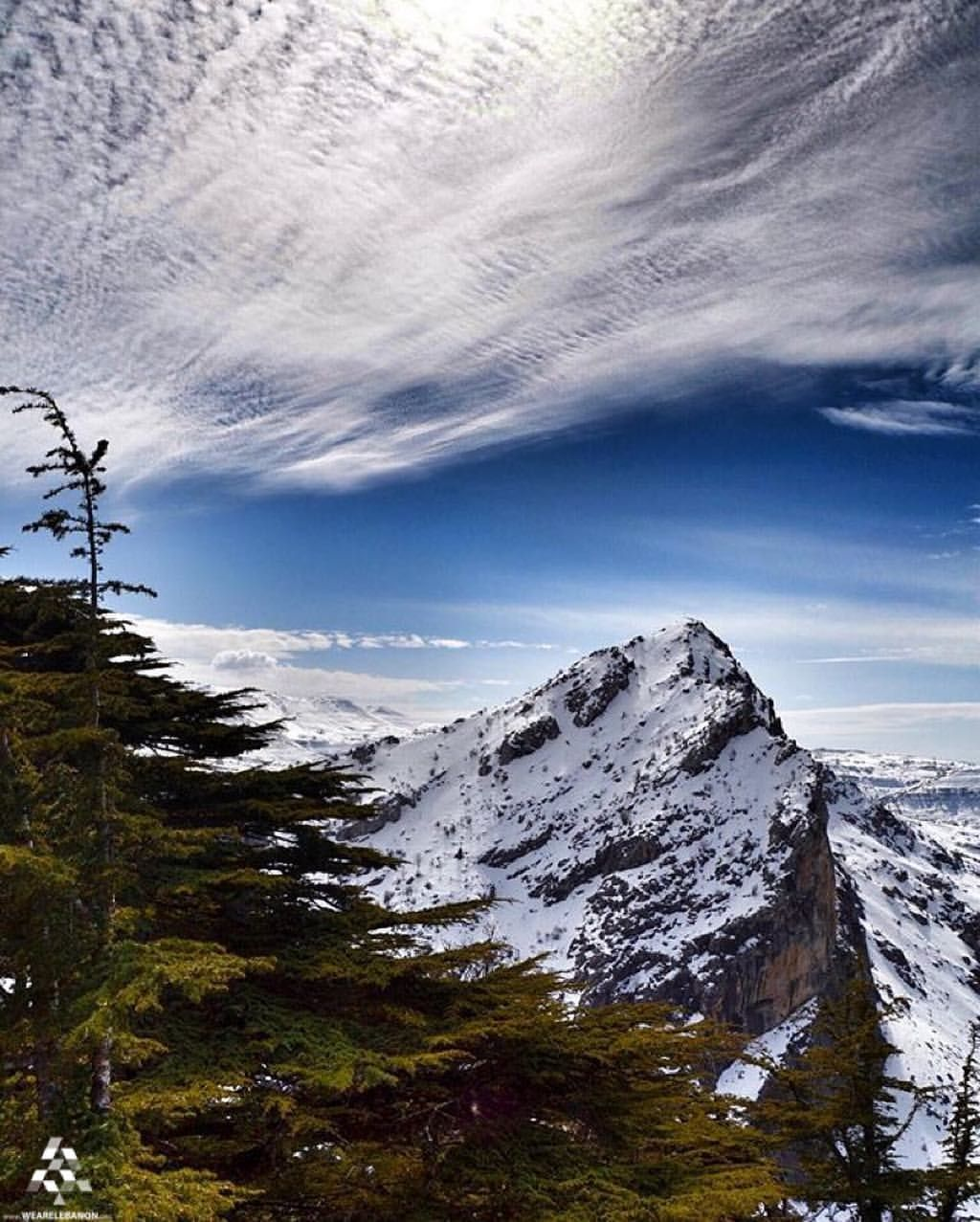 Have beautiful Morning from #the stunning Tannourine ❄️ By @slhclt #WeAreLebanon  #Lebanon #WeAreLebanon