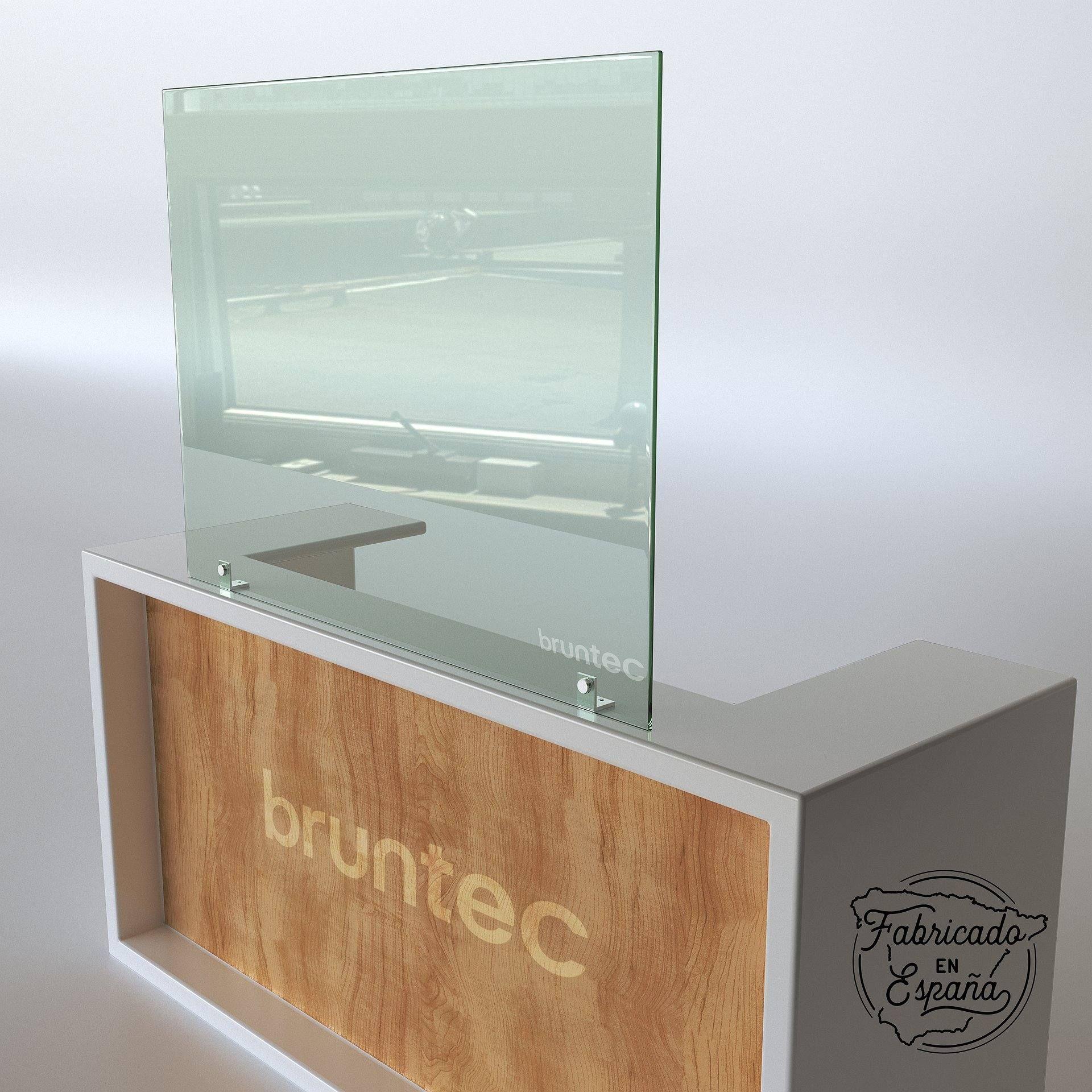Mampara Separadora De Cristal Dublin 80 Cm Alto Y Ancho Varias Medidas Mampara De Cristal Disenos De Unas Diseño Casas Pequeñas