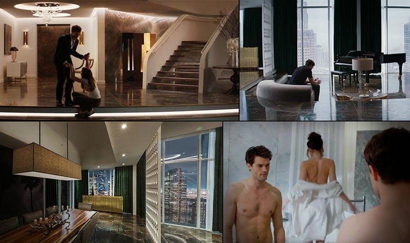 Celebrity Homes: Apartmán z filmu '50 shades of grey'