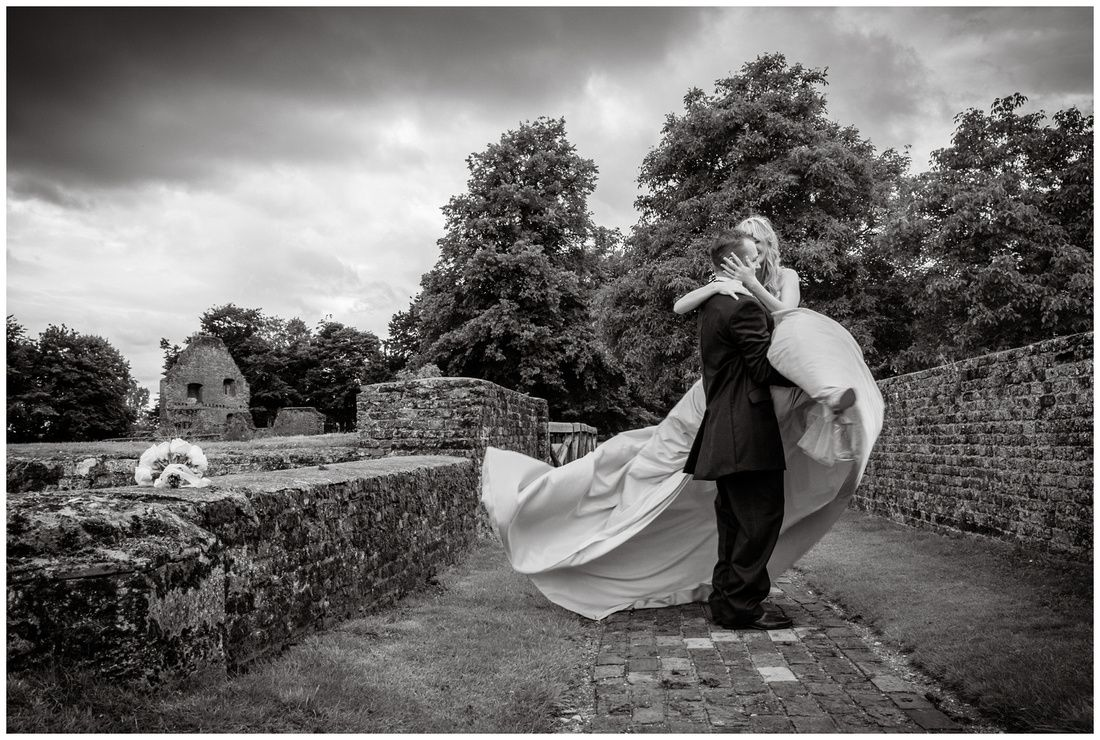 Tattershall castle wedding, lincoln, UK by Barbara Leatham