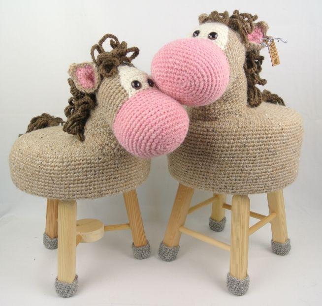 Dieren Kruk Haken Paard Haakpret Crochet Croch