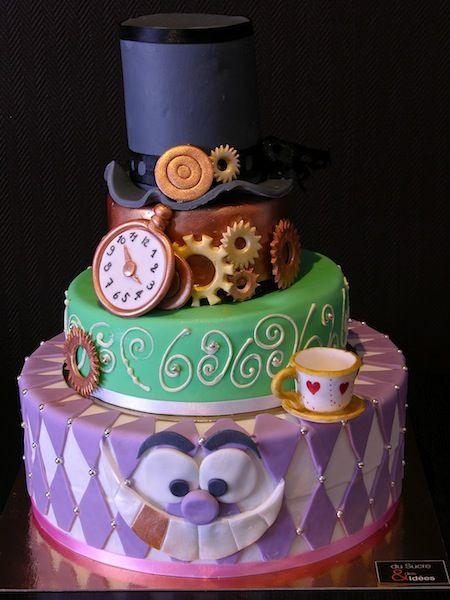 Steampunk Wedding Cake Kind Of Creepy Plus
