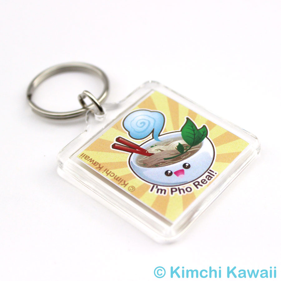 Cute Pho Keychain Kimchi Kawaii Online Store Powered By Storenvy Keychain Kawaii Cute