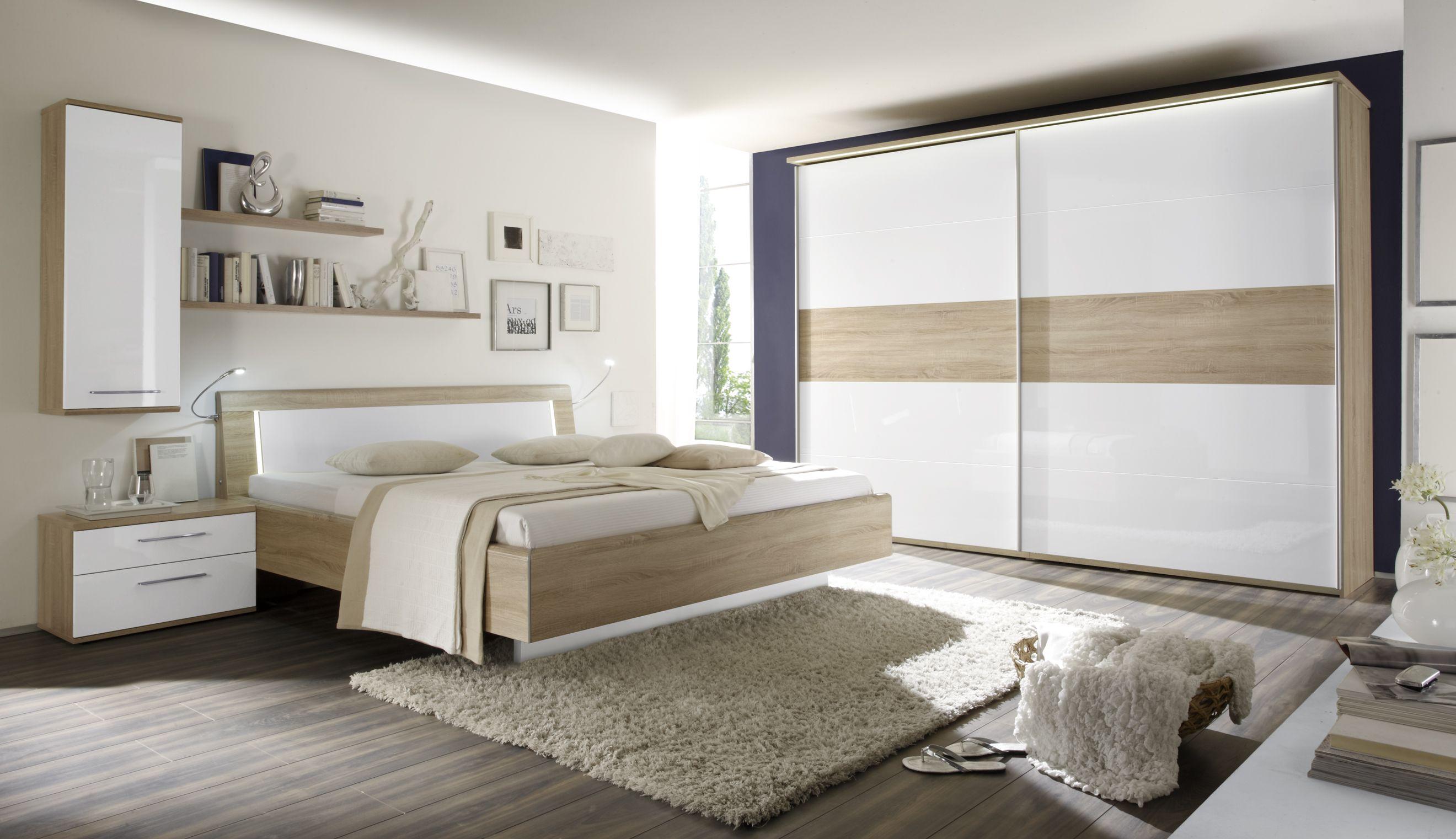 Loddenkemper Luna Home, Modern bedroom, Furniture