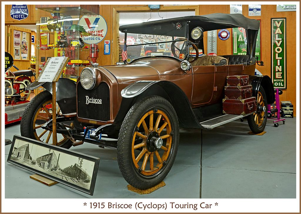 1915 Briscoe \'Cyclops\' 4-Cylinder Touring Car | Old time cars ...
