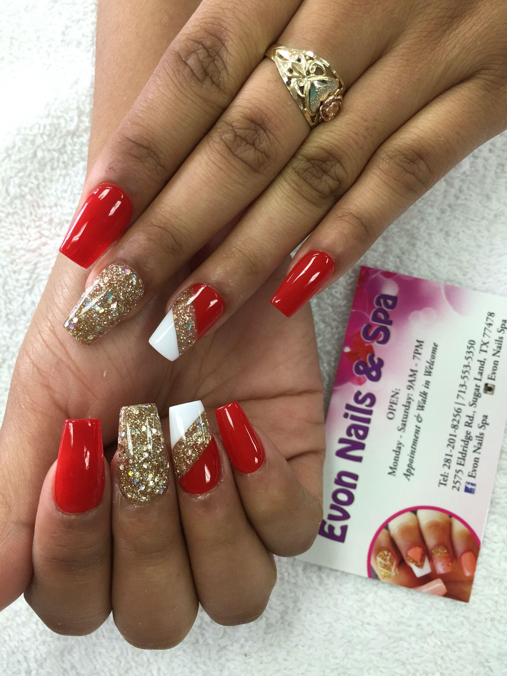 Evon Nails Spa 2575 Eldridge Rd Sugar Land Tx 77478 United States Nail Spa Nails Nail Art