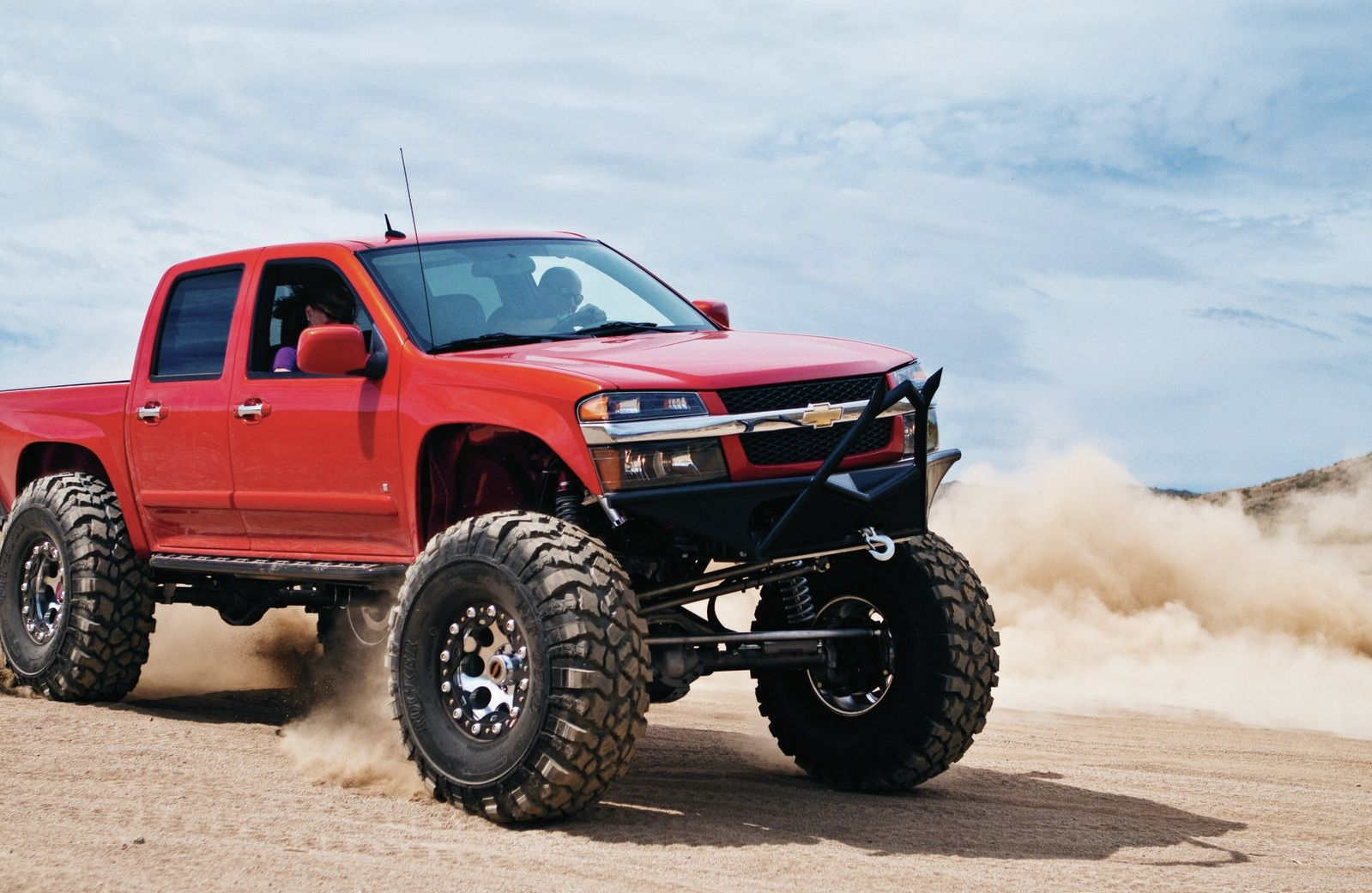 Gmc Canyon Lifted With Straight Axle Conversion Trucks Chevy Colorado Chevy