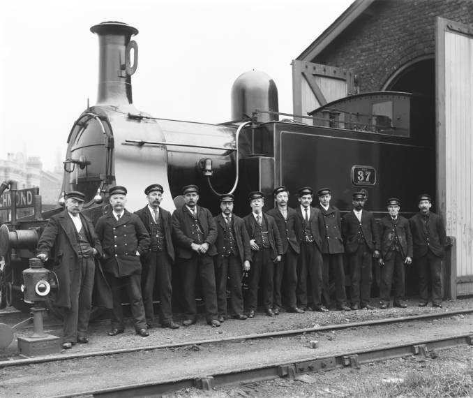 North London Railway Workers About 1900 Model Railway Train Layouts Train