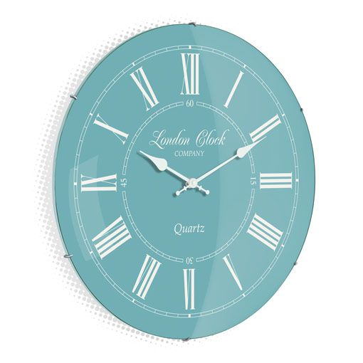 The Emma Teal Wall Clock Australia Purely Wall Clocks London Clock Teal Wall Clocks Clock