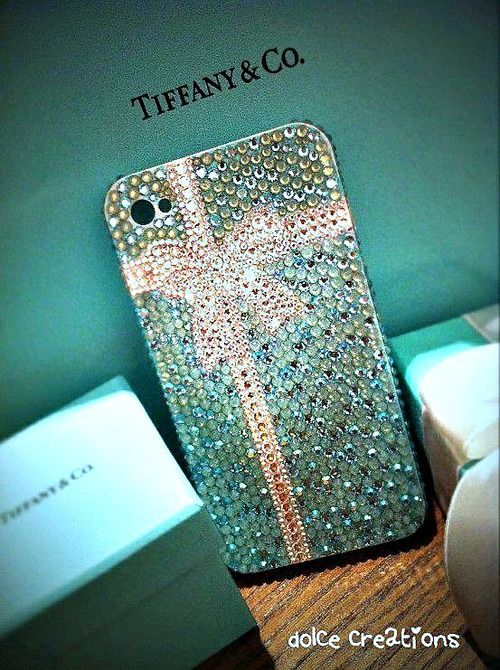 <3 Tiffany & Co bling iPhone case I AM IN HEAVEN