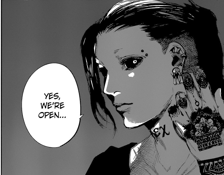 "Uta Tokyo Ghoul Re Chapter 35 ""Dependence"" Tokyo"