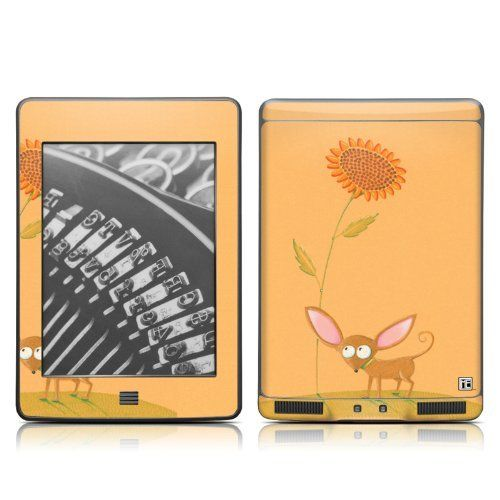 Chihuahua design protective decal skin sticker for amazon kindle touch touch 3g 6 inch