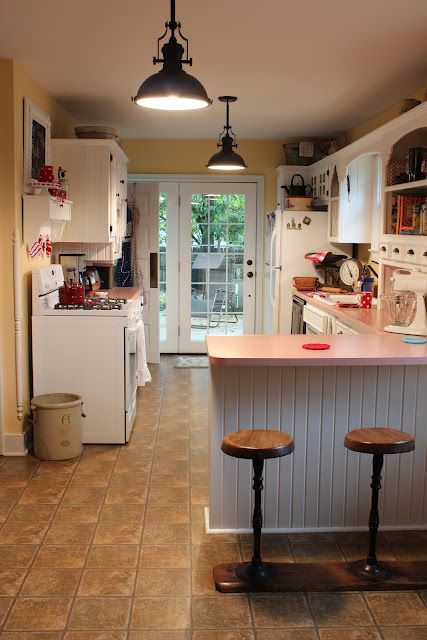 Catherine Holman Folk Art New Cottage Kitchen Light
