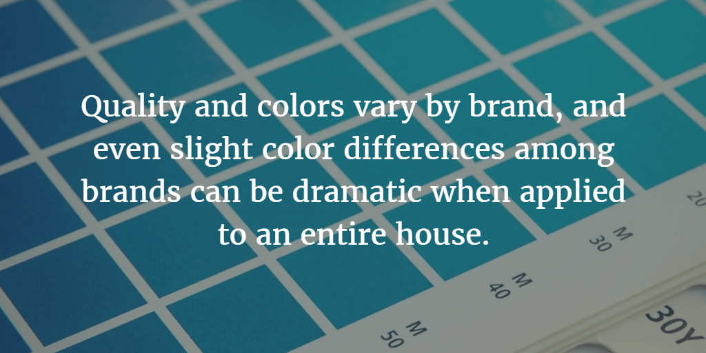 Be Careful When Trying To Color Match Paint Paintingtips