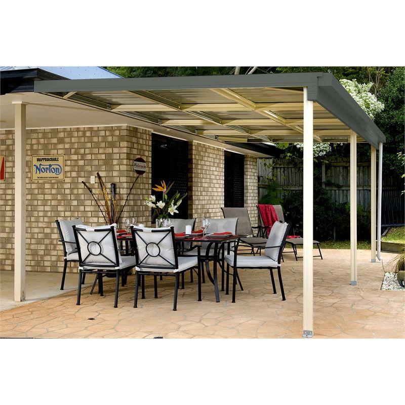 absco sheds 6 0 x 3 0 x 3 0m awning patio cover woodland grey rh pinterest co uk