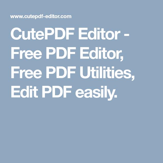 Cutewriter pdf gratis