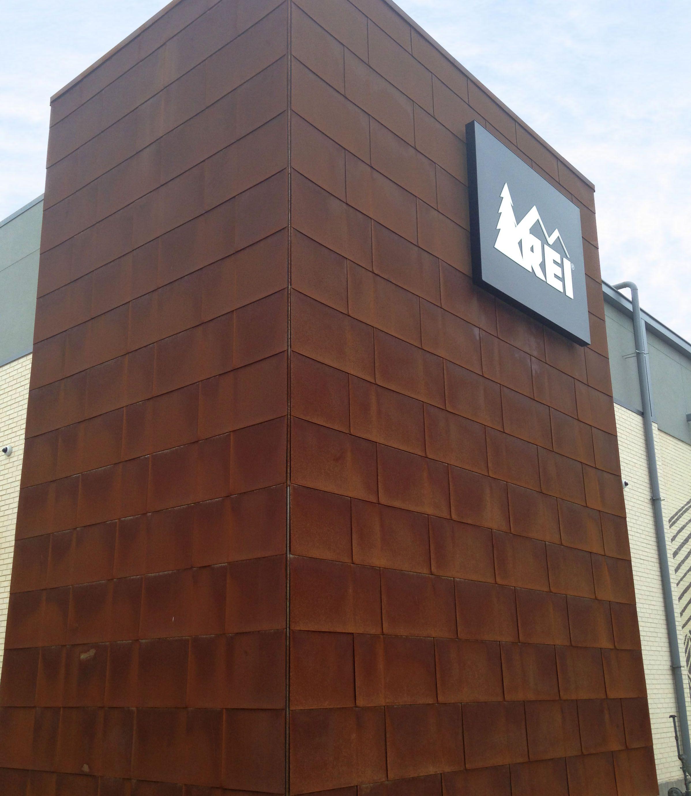 Rei Dallas Tx A606 Weathering Steel Flatlock Panels