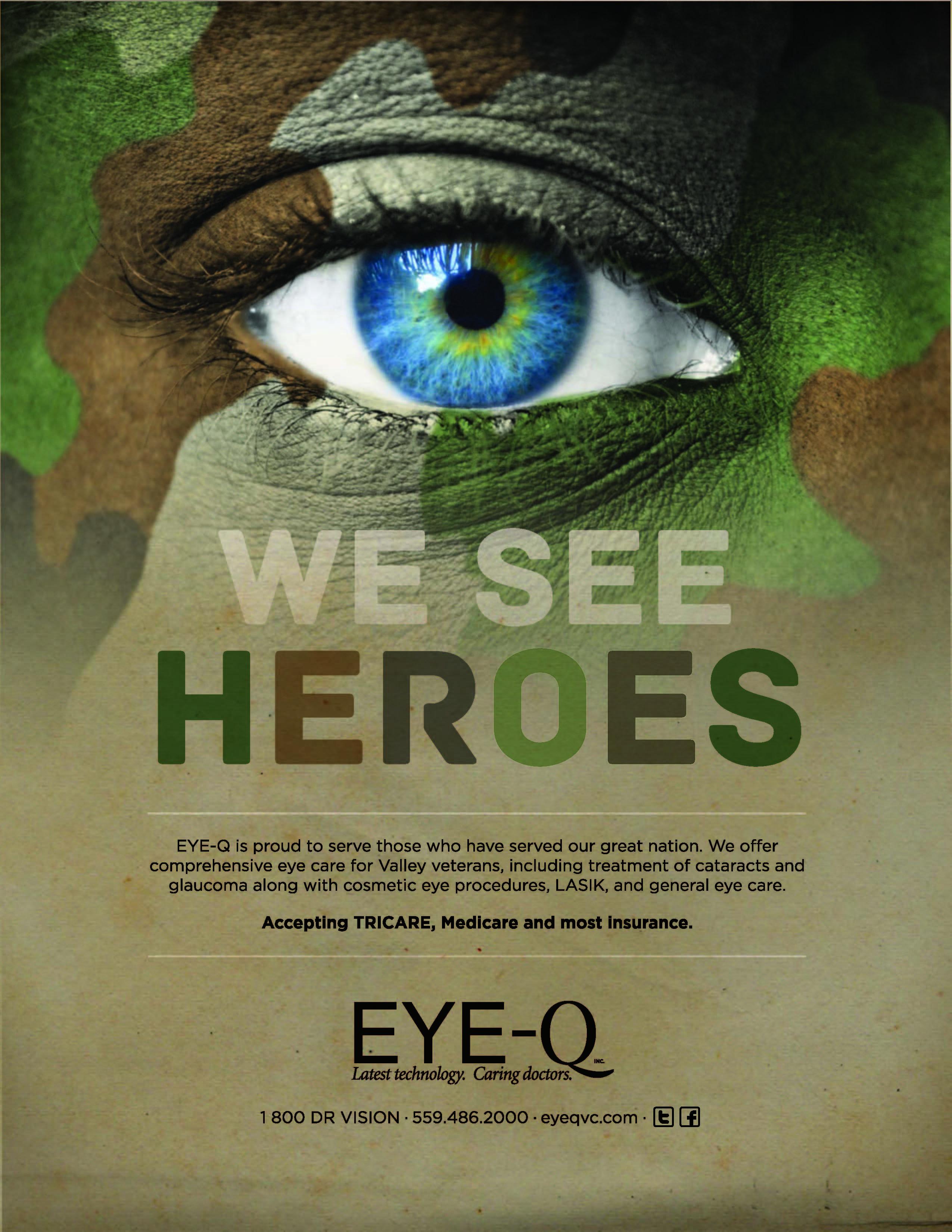 Eye Q Vision Care Center Print Ads Boxe