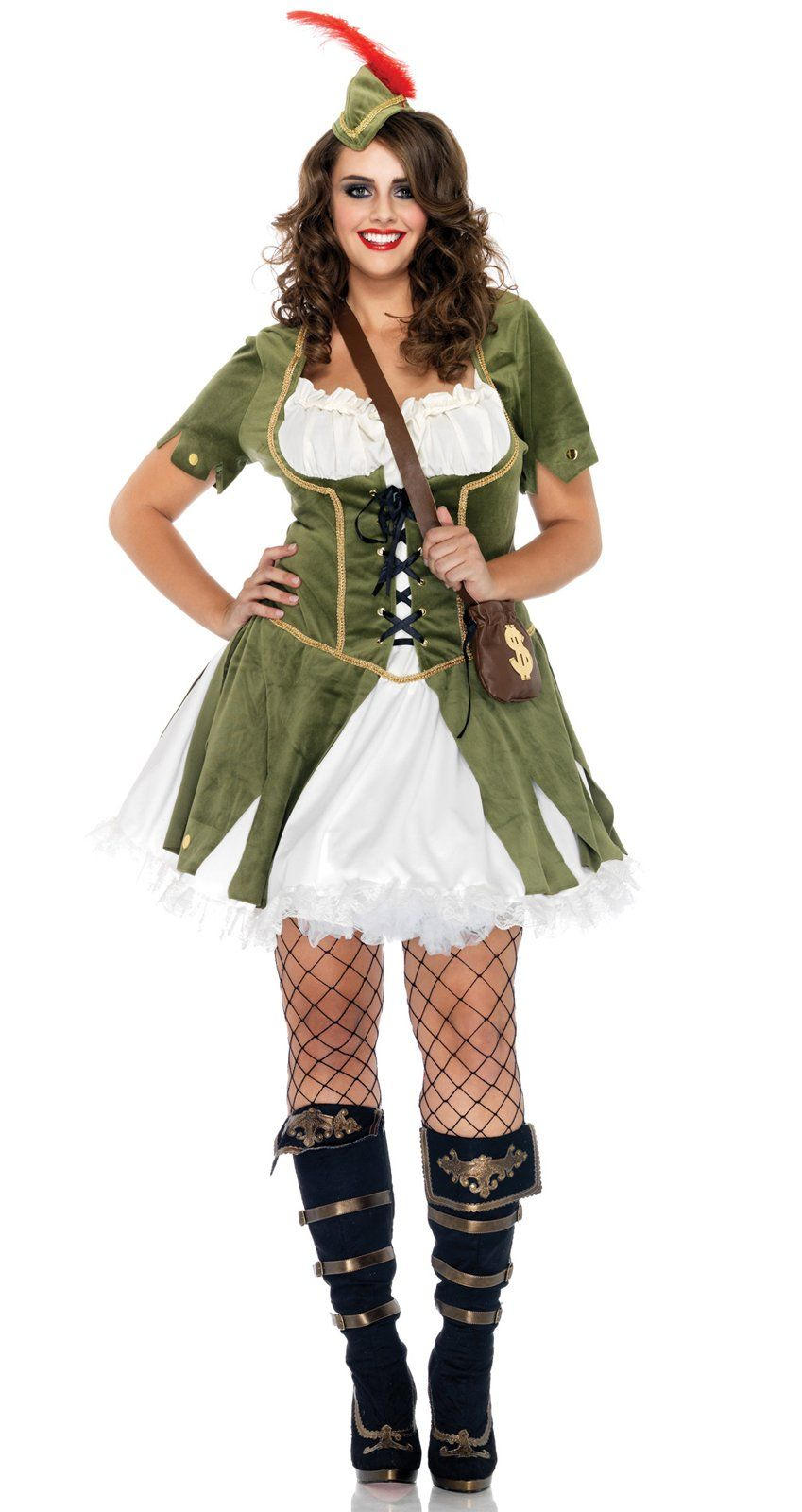 Thief of Hearts Plus Adult Costume Plus size