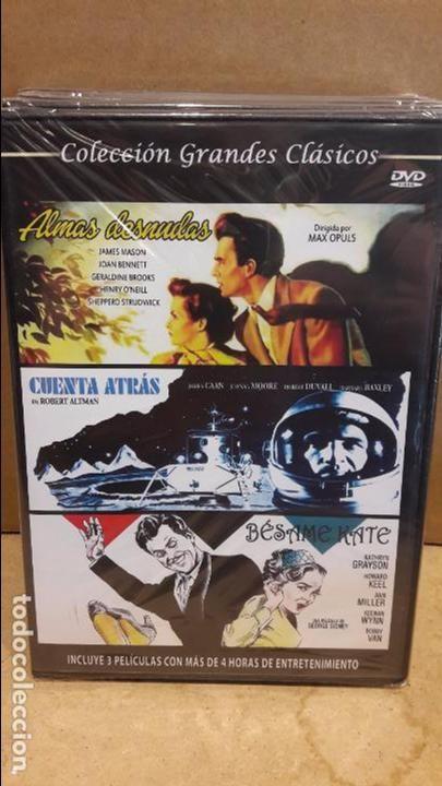 3X1 / ALMAS DESNUDAS / CUENTA ATRÁS / BÉSAME KATE / DVD - PRECINTADO