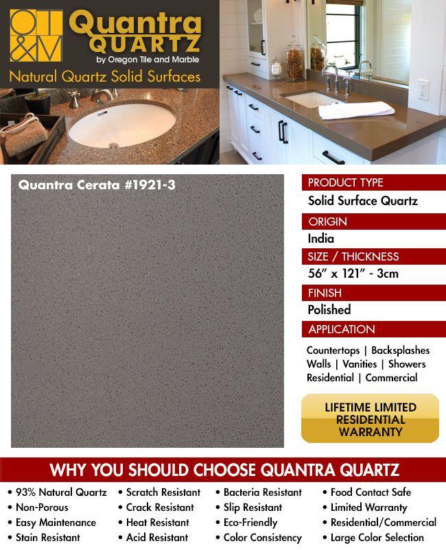 Kitchen Countertop Quartz Quantra Cerata Countertops Tiles