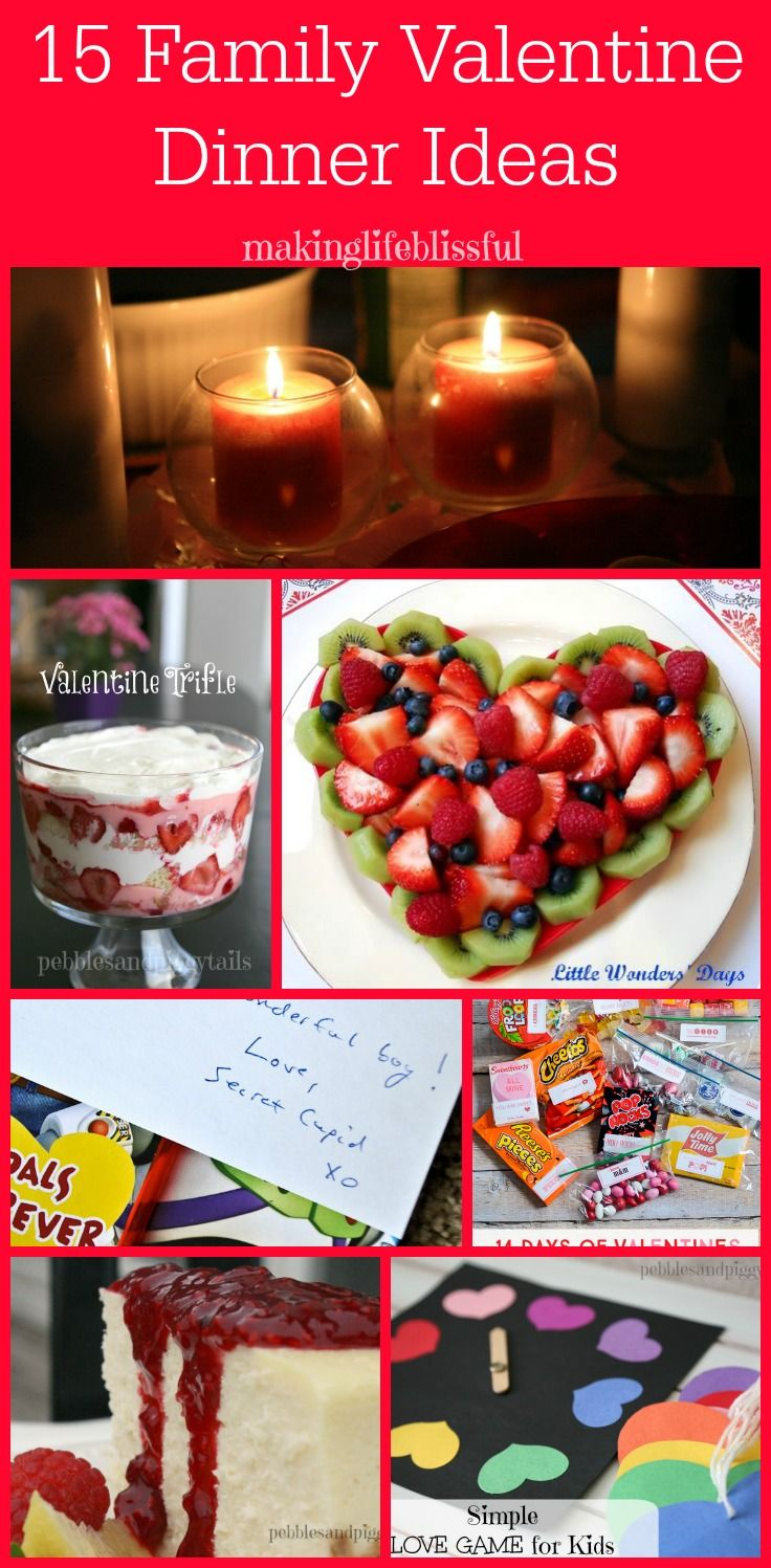 15 family valentine dinner ideas - Easy Valentine Dinner Recipes