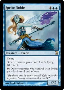 Sprite Noble Magic The Gathering I Need A Couple More Of These For My Faerie Deck Faeries Magic The Gathering Cards Sprite