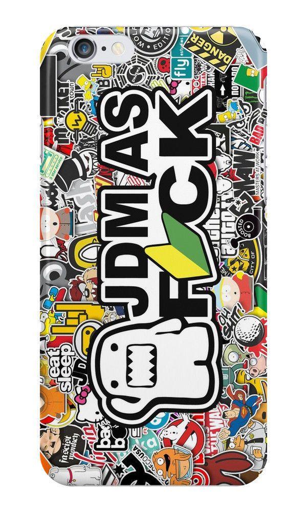 JDM as Fck iphone case