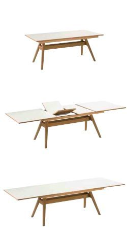 Danish Design At Its Best This Modern Dining Table Is Designed By Skovby I