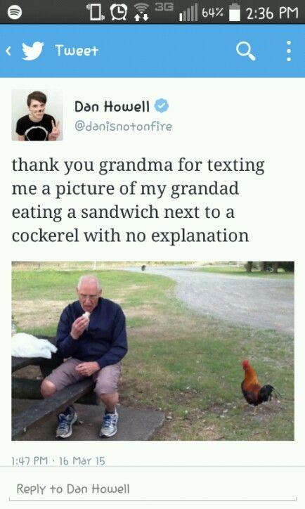 Even his grandad is adorable