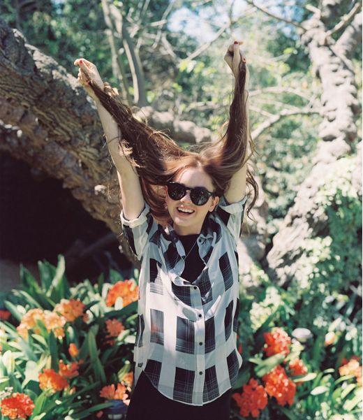 Liana Liberato in Aritzia