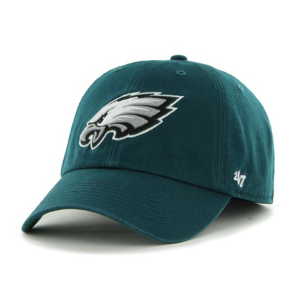 bb0205afab0cc Philadelphia Eagles Franchise Pacific Green 47 Brand Hat ...