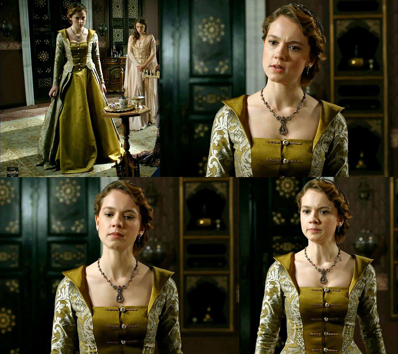 muhtesem yuzyil kosem, atike sultan, dress, costume 2x03