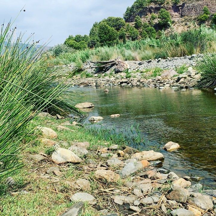 Cool off with some downtime in the River Guadalfeo, with 360° mountain views! A 5 minute walk from t...