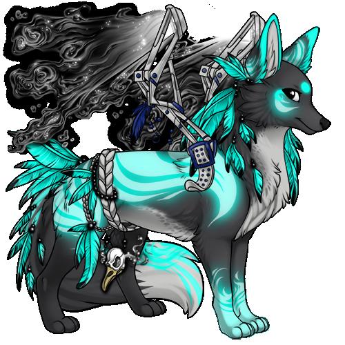 anime kawaii wolf: Pin By Haley Kerstetter On Sylestia