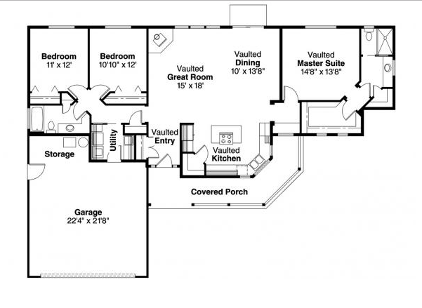 Ennis House Plan