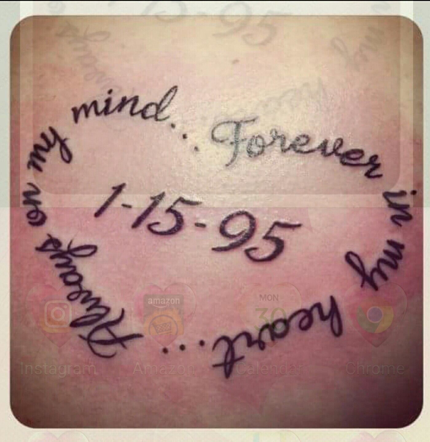 In Memory Of Loved Ones Quotes Pinnicole Graham On Terrific Tattoos  Pinterest  Tattos And