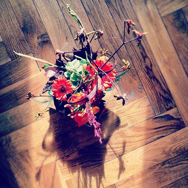 @snive | #blomster #parkett #grannkärlek