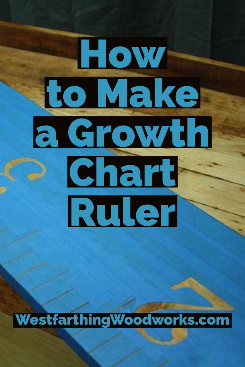 Diy Growth Chart Ruler Tutorial This Is A No Cut Tutorial So If