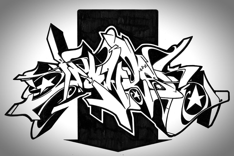 Graffiti art designs - Art And Design Sirum_illustrations Graphic Art Design_13