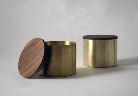 Brass | Walnut   Belgian designer Michaël Verheyden - via Coco Lapine Design