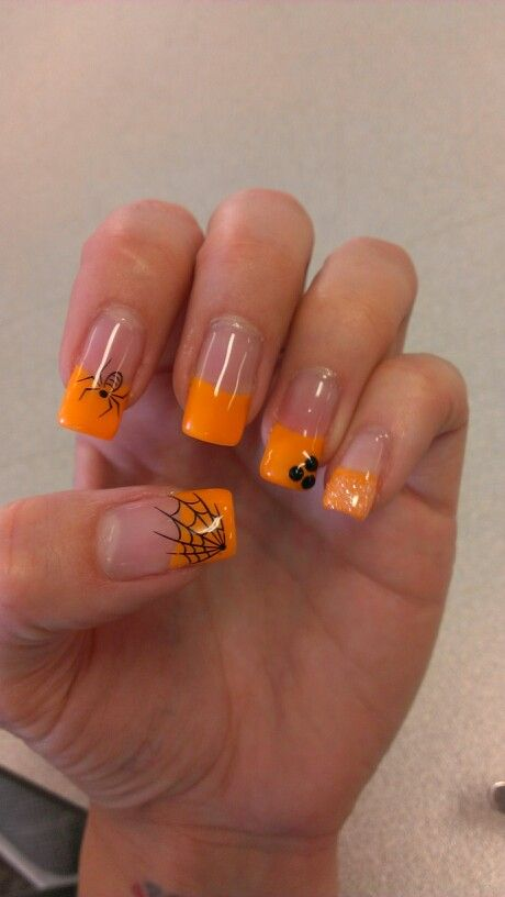 My halloween nails 2013 | Fall gel nails, Halloween ...