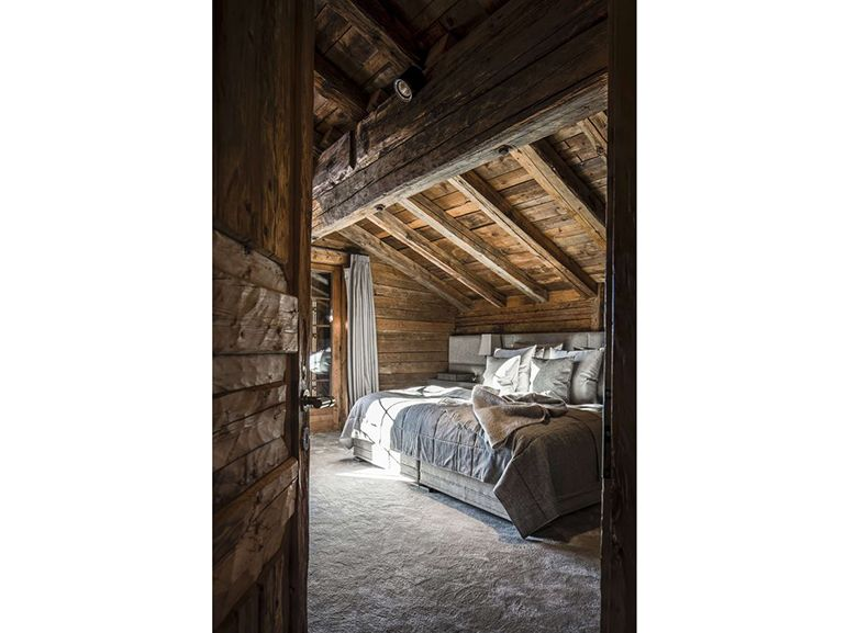 Immagini Di Camere Da Letto Di Montagna : Chalet da sogno interni di montagna ispirazione camera da letto